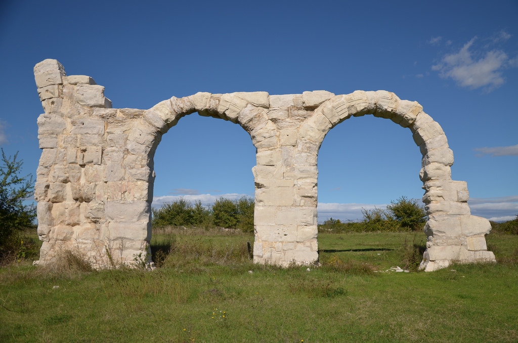 Arches of the Burnum principium (or Forum)
