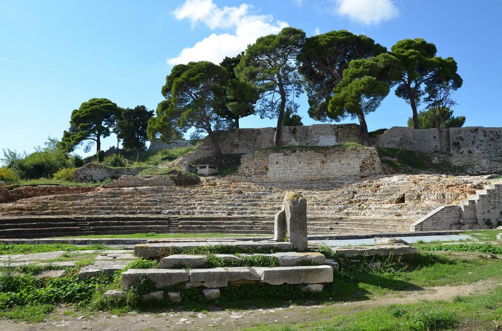 The Roman Theatre.
