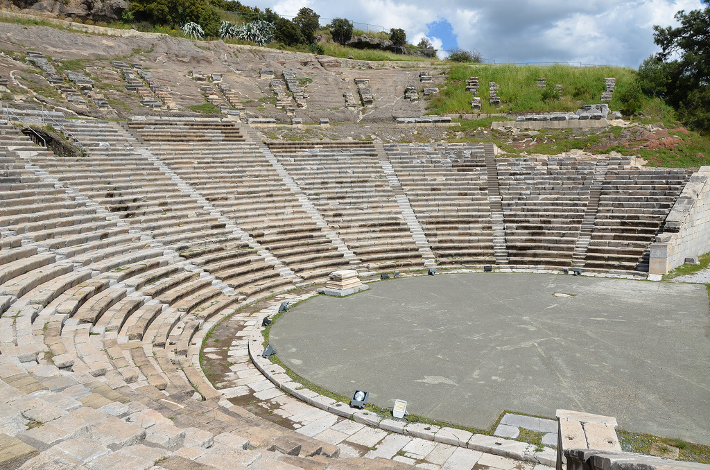 The theatre of ancient Halicarnassus.