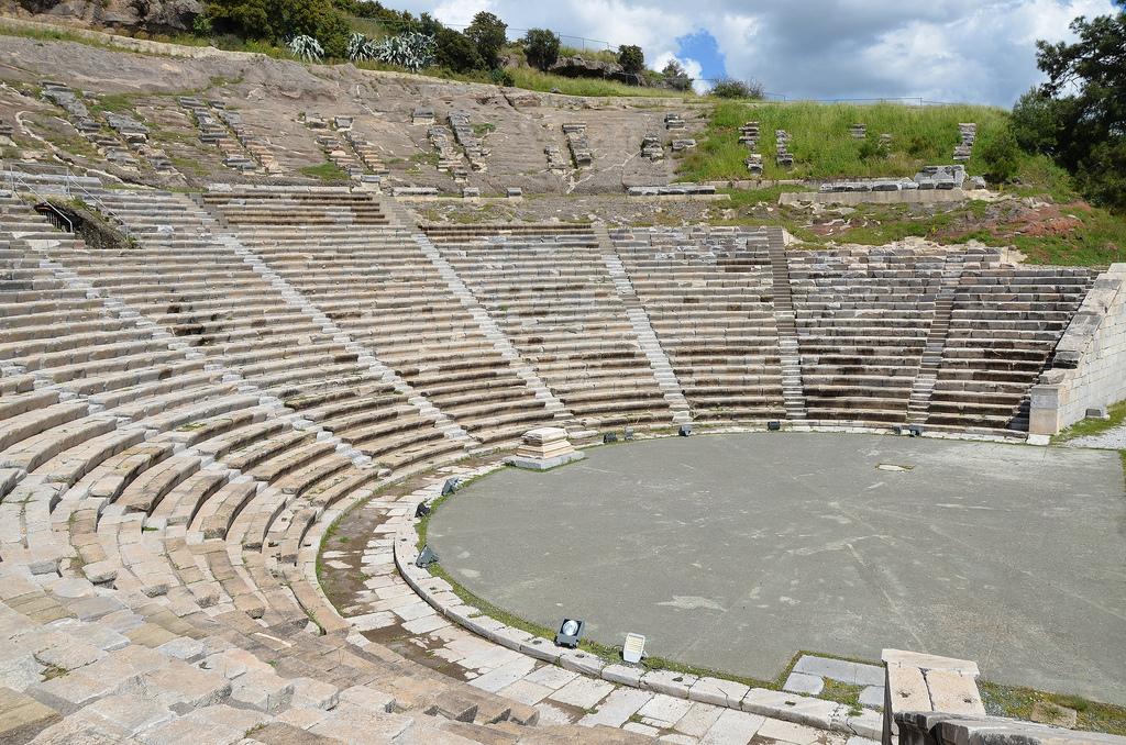The theatre of ancient Halicarnassus.