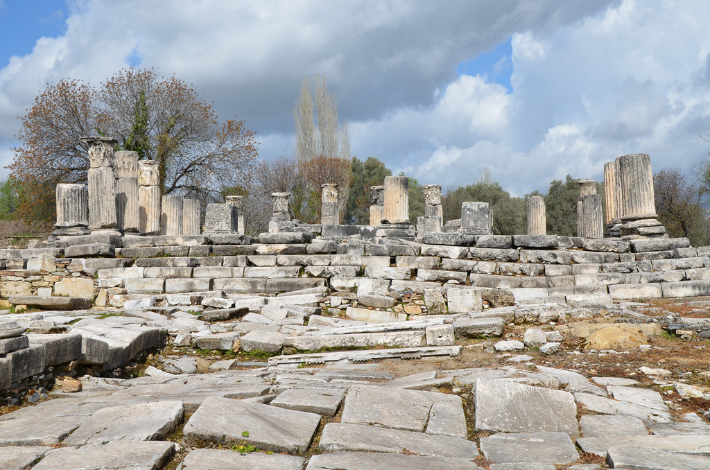The Sanctuary of Hecate in Lagina, dated to the last quarter of the 2nd century BC, Caria, Turkey