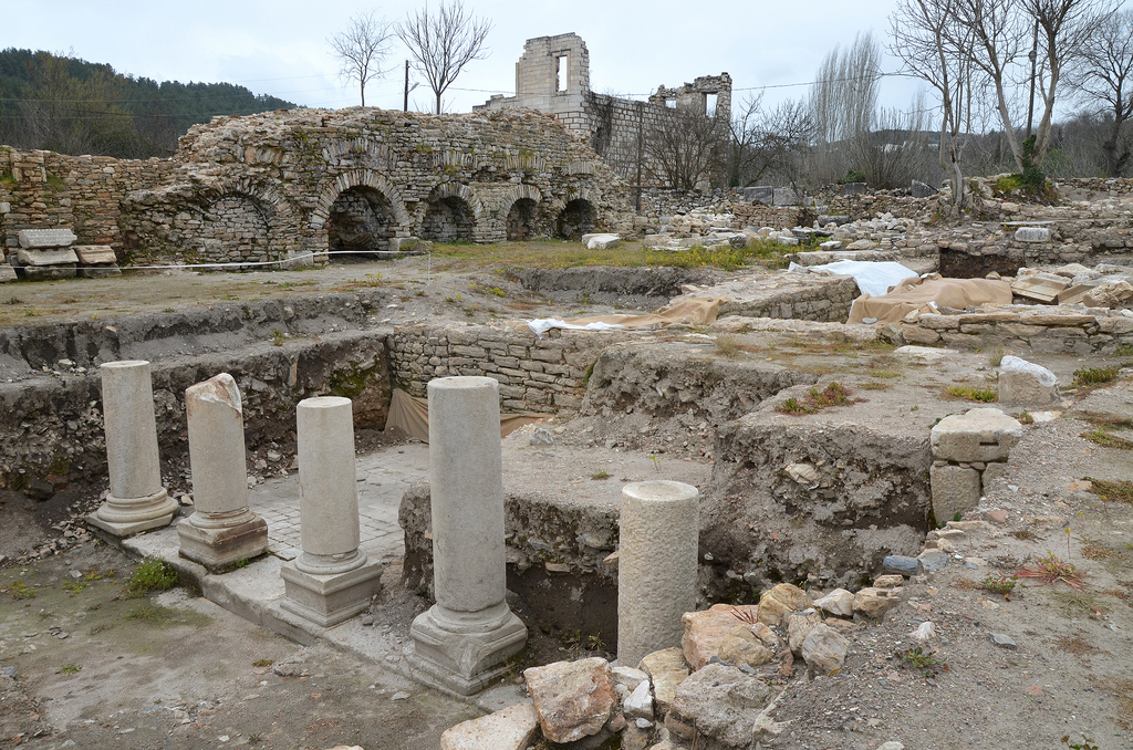 The ruins of Stratonicea.