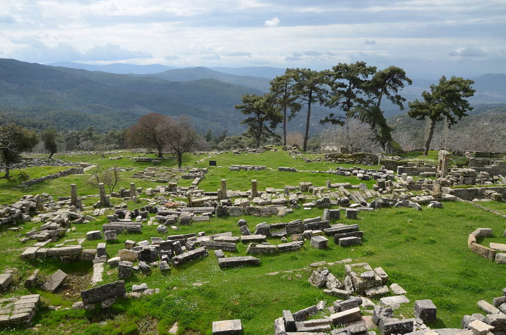 The Sanctuary of Zeus Labraundos, Labraunda, Caria, Turkey