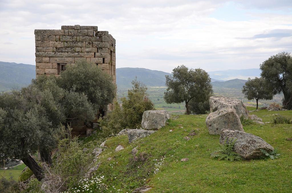 The Two-storey Hellenistic watchtower, Alinda, Caria, Turkey