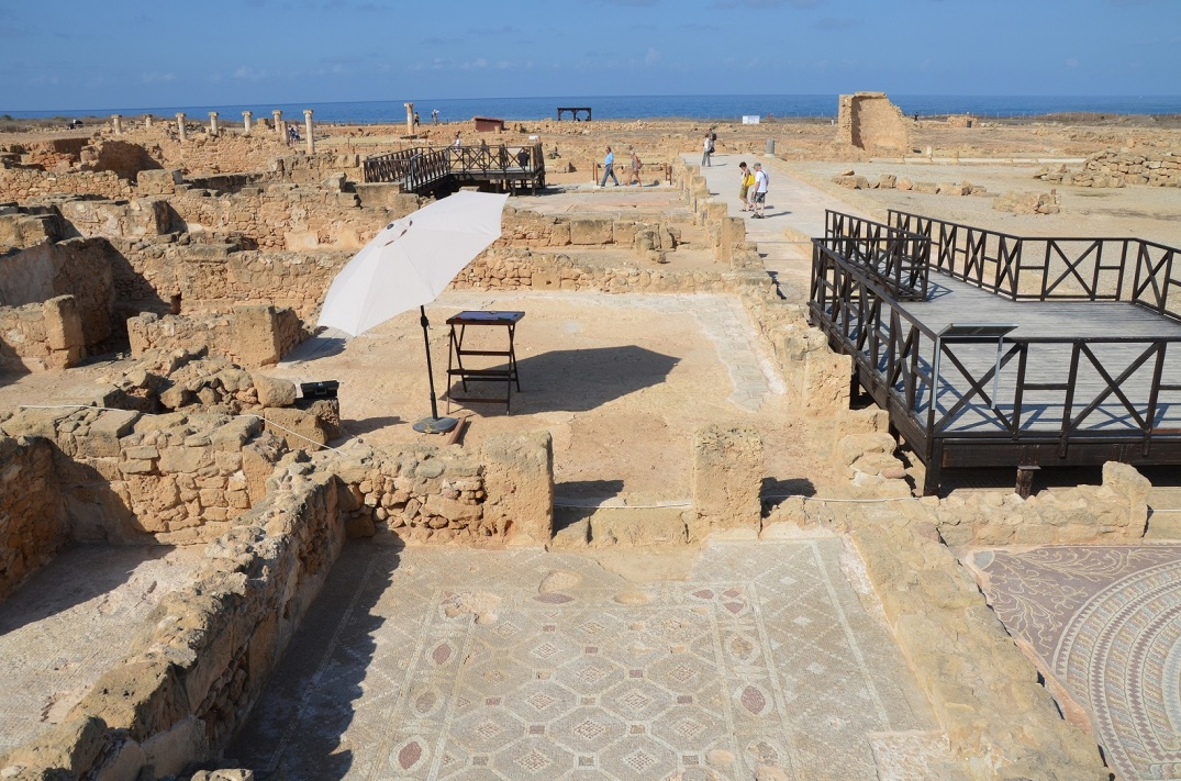 The House of Theseus, Paphos Archaeological Park