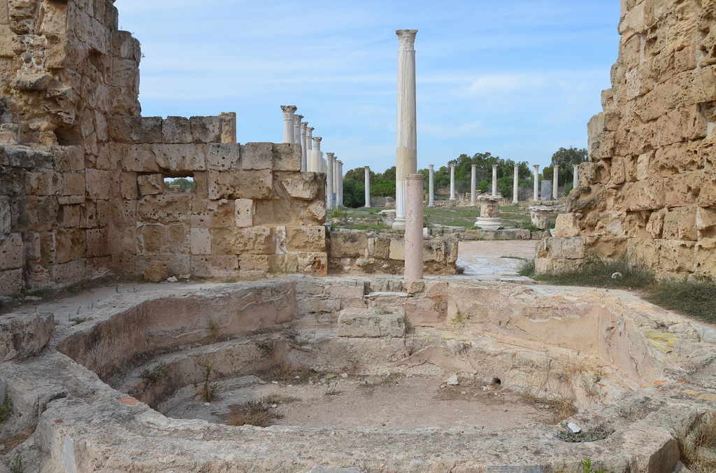 The bath complex, Salamis, Northern Cyprus