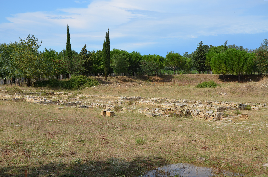 A roadhouse along the Via Domitia dating back to around 30 BC, roadhouses were built every 10-15 kilometes along the Romans roads to allow travellers to rest.