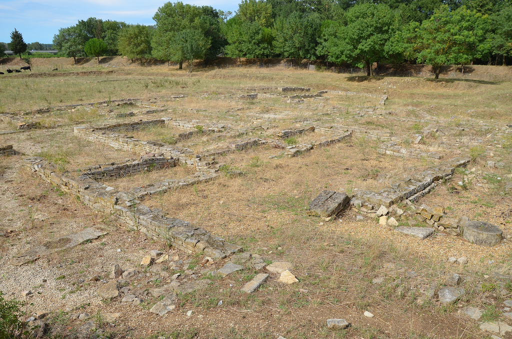 The ruins of a roadhouse along the Via Domitia dating back to around 30 BC, roadhouses were built every 10-15 kilometres along the Romans roads to allow travellers to rest.