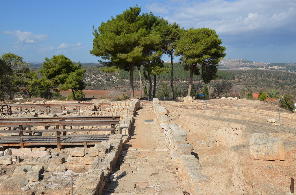 Residential houses around the Crusaders fortress, these are dwellings from the Hellenistic to Byzantine periods.