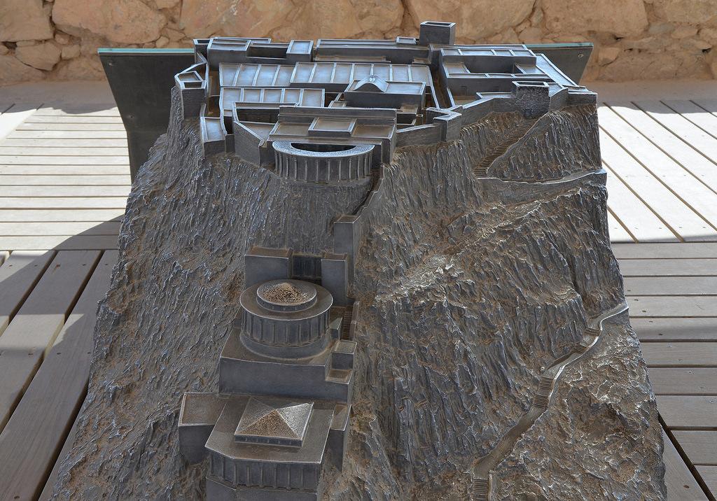Model of Masada.