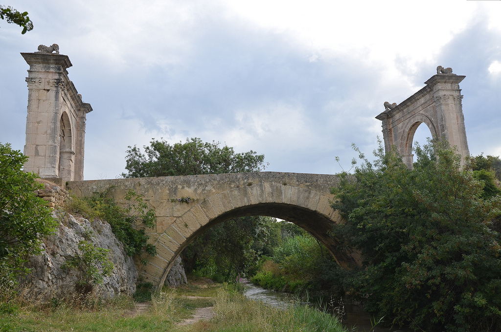 The Pont Flavien, Saint-Chamas (France).