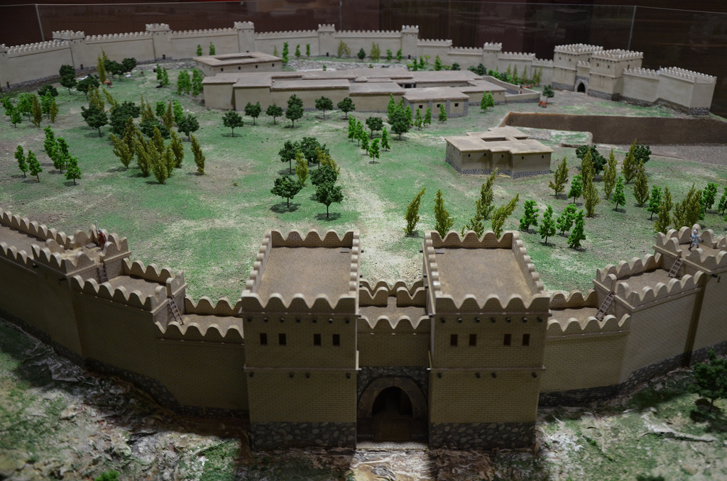 Model of Alacahöyük.