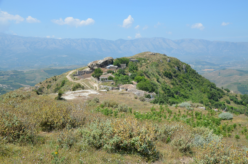 View of the Acropolis of Amantia.