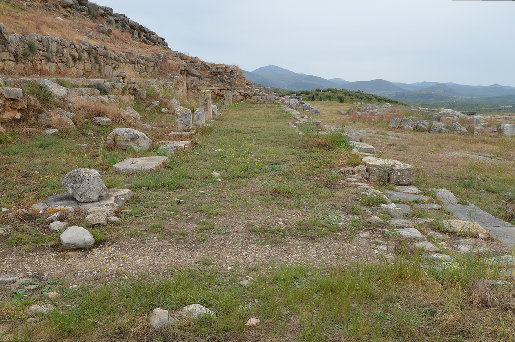 Overall view of North Stoa.
