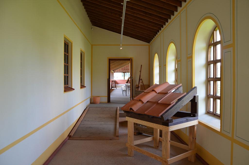 The exhibition area.