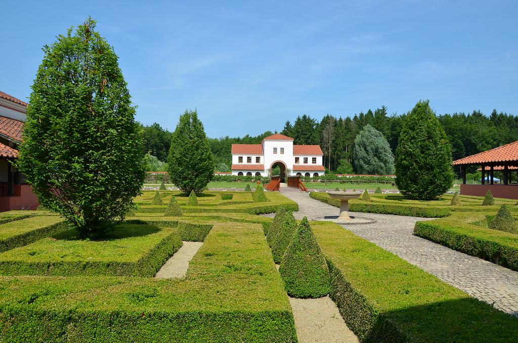 Roman Villa Borg.