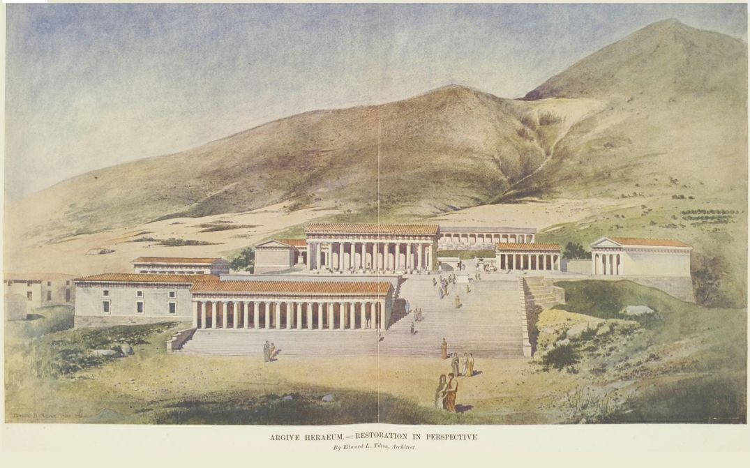 heraion_of_argos_reconstruction_on_a_1902_painting