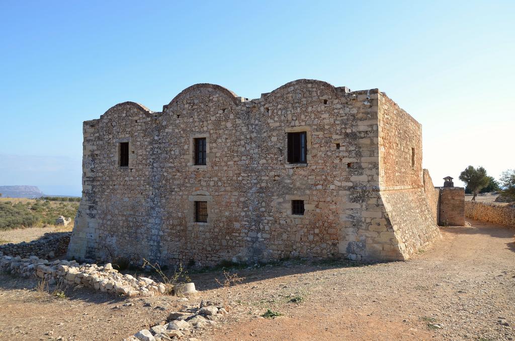 The monastery of Agios Ioannis Theologos.