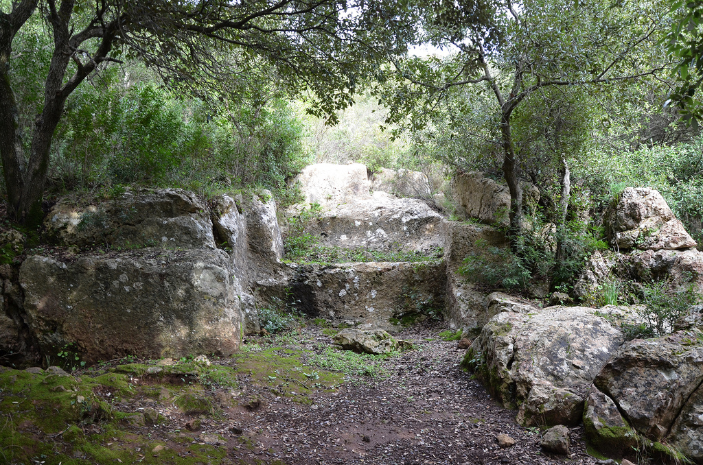 Roman quarry near the Temple of Antas.