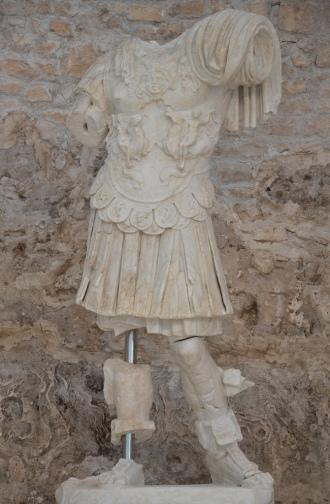 Statue of Emperor Augustus.