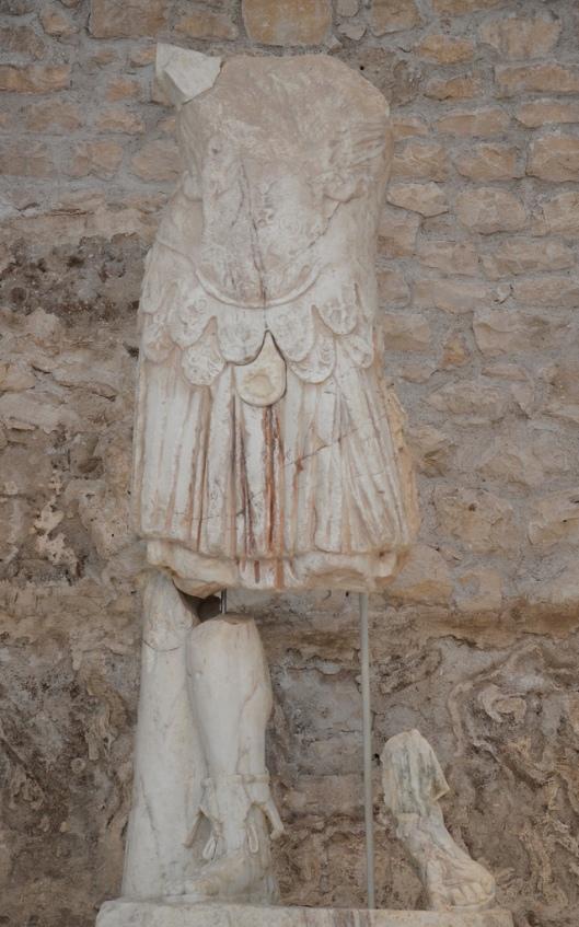 Statue of emperor Tiberius.