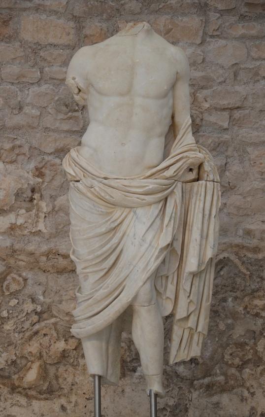Statue of Germanicus.