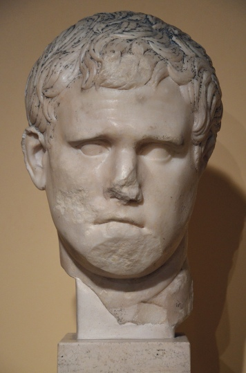 Portrait of Marcus Vispanius Agrippa.