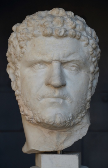 Portrait of Caracalla, 212 - 217 AD.