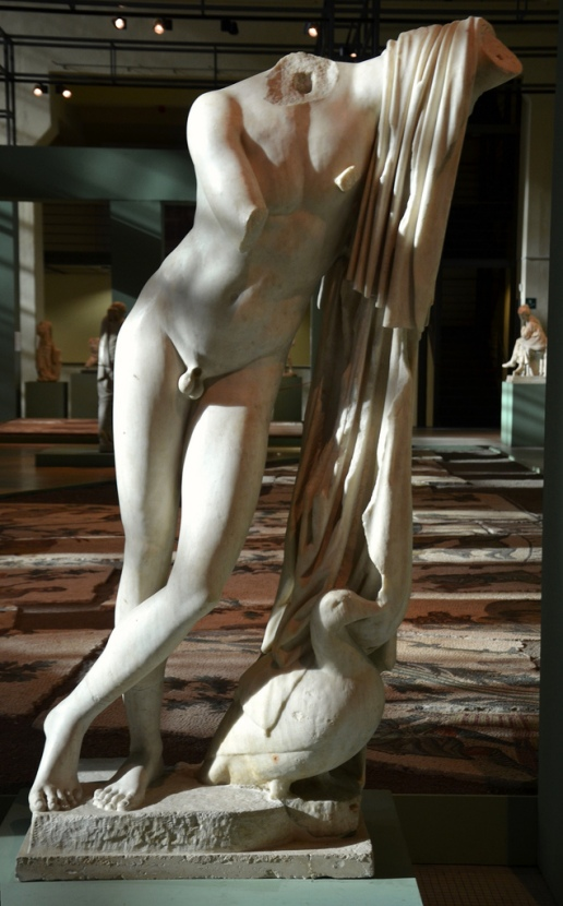 Acephalous statue of Pothos.