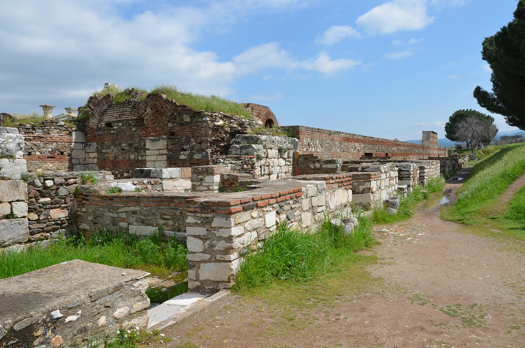 The Byzantine Shops. The streets of Late Roman Sardis were flanked by buildings that served a variety of residential, commercial, and industrial purposes. The shops formed part of a lively commercial district in the 5th-6th centuries.