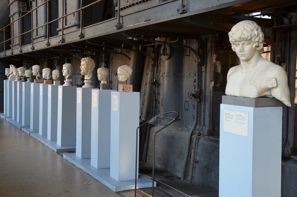 The Engine Room, Imperial portraits and Roman copies of Greek originals.
