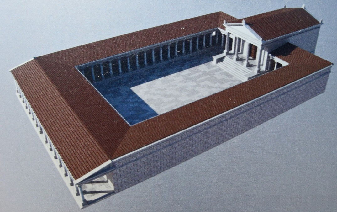 3D reconstruction of Temple A.