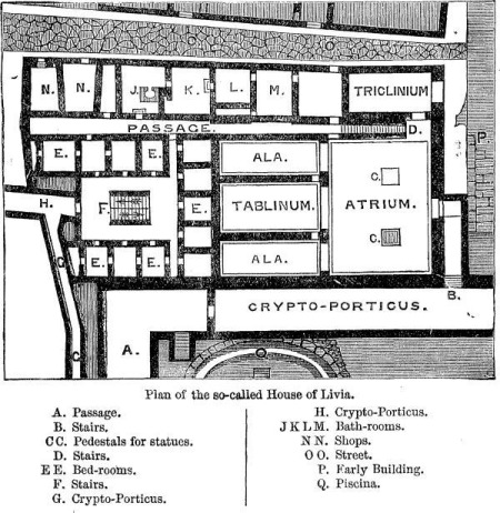 Plan of the House of Livia.